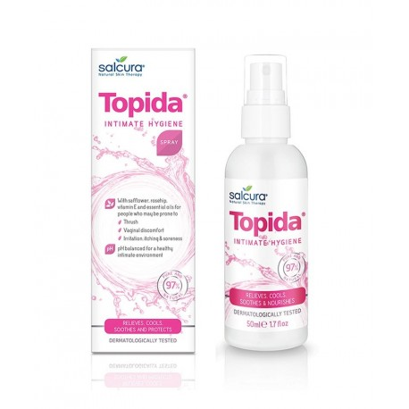 Salcura 'Topida' Intimate Hygiene Spray 50 ml