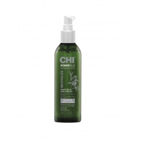 Galvos odos purškiklis su vitaminais CHI Powe Plus Revitalize 104ml
