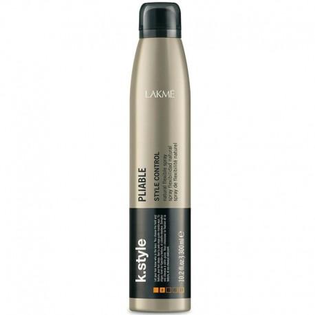 Lanksčios fiksacijos plaukų lakas Lakme k.style Pliable 300ml
