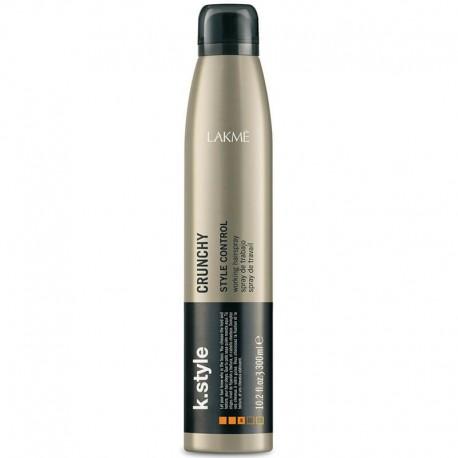 Stiprios lanksčios fiksacijos plaukų lakas Lakme k.style Crunchy 300ml