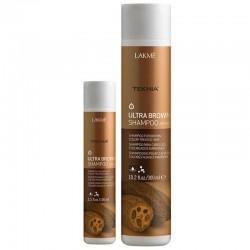 Rudą spalvą paryškinantis plaukų šampūnas Lakme Teknia  Ultra Brown