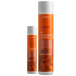 Šampūnas atgaivinantis vario atspalviais dažytų plaukų spalvą Lakme Ultra Copper Shampoo 300ml