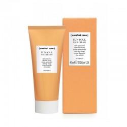 Drėgmę atstatantis veido kremas po deginimosi SPF50 Comfort Zone Sun Soul EXTRA Face cream SPF50 60ml