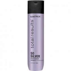 Sidabrinį atspalvį suteikiantis šampūnas Matrix Total Results Color Obsessed So Silver 300ml