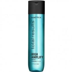 Ypač lengvos silikono neturinčios formulės šampūnas su baltymais Matrix Total Results High Amplify 300ml