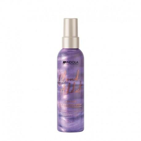 Spindesio suteikiantis plaukų purškiklis Indola Divine Blond 150ml