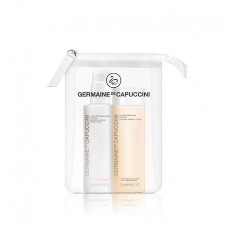 Veido priežiūros rinkinys sausai ir jautriai odai Germaine de Capuccini OPTIONS DUOS