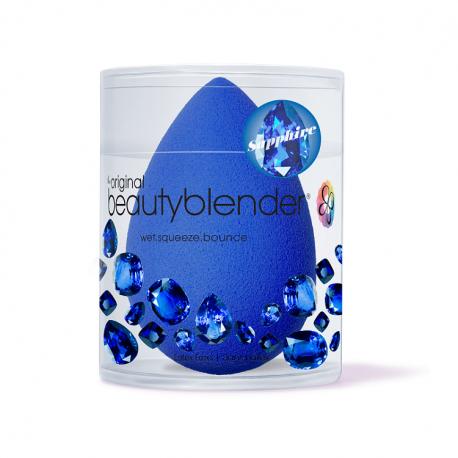 Originali mėlyna BeautyBlender makiažo kempinėlė Sapphire