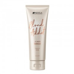 Šampūnas šviesiai dažytiems plaukams Indola Blond Addict
