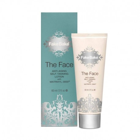 Savaiminio įdegio priemonė veidui Fake Bake The Face Anti-ageing Self-tan Lotion with Matrixes 3000 60ml