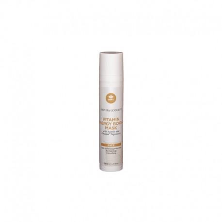 Vitaminais praturtinta energizuojanti veido kaukė GMT BEAUTY Vitamin Energy Boost Mask 50ml