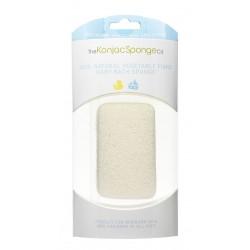Kūdikių kūno kempinėlė The Konjac Sponge Premium Baby Bath Sponge