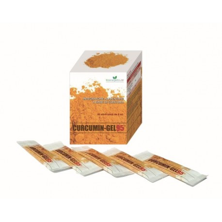 Maisto papildai imuninei sistemai BioenergeticLab Curcumin Gel 95+ 20vnt 5ml
