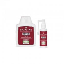 Rinkinys slenkantiems plaukams Bioxsine Forte