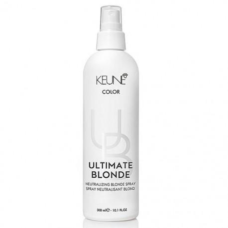 Geltoną atspalvį neutralizuojantis purškiklis KEUNE Ultimate Blonde Neutralizing Blonde Spray 300ml