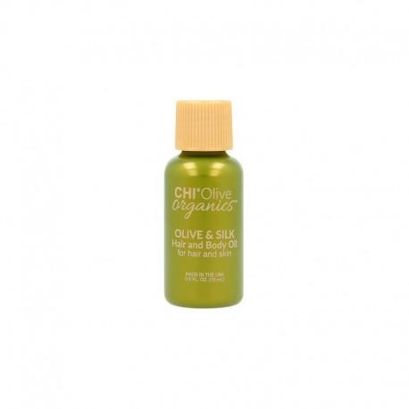 Aliejus plaukams ir kūnui CHI Olive Organics Olive & Silk